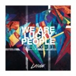 Lange - We Are Lucky People Remixed album cover